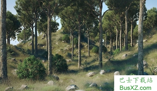 4d植物树木石头生成插件3dquakers forester for cinema v1.4.9 最新版